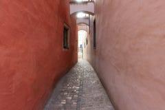 Staden av Regensburg Royaltyfria Bilder