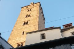 Staden av Regensburg Royaltyfri Fotografi