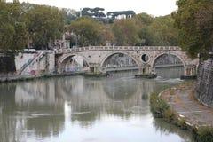 Staden av rome Vektor Illustrationer