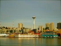 Staden av Seattle Arkivbild
