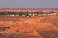 Staden av sidan, Arizona Arkivfoto