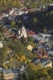 Staden av tiavnicaen för Banskà ¡Å Fotografering för Bildbyråer