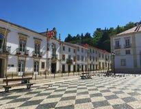 Staden av Tomar Portugal arkivbild