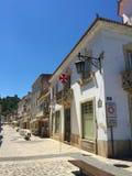 Staden av Tomar Portugal royaltyfri foto