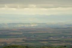 Staden av Ujue Arkivfoto