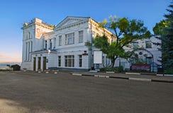 Staden av Ulyanovsk Arkivbilder