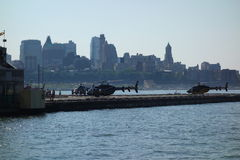 Staden 2014 av vattendagen på stadsclipperen 40 Arkivbilder