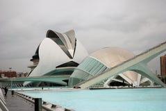 Staden av vetenskap och konsterna royaltyfri foto