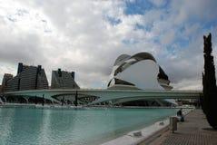 Staden av vetenskap och konsterna royaltyfria foton