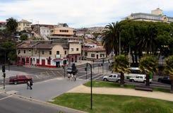 Staden av Vina Del Mar, den administrativa mitten av den homonymous kommunen, del av landskapet av Valparaiso Arkivbild