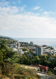 Staden av Yalta crimea Royaltyfria Foton
