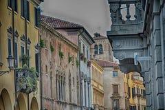 Staden Bergamo, Italien Royaltyfri Fotografi