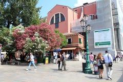 Staden beskådar av Venedig, Italien Arkivfoton