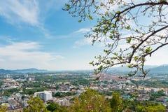 View pekar på Phuket Royaltyfria Foton