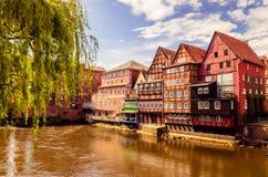 Lüneburg Tyskland Arkivbilder