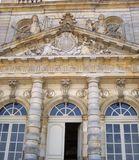 staden details den facadeluxembourg slotten paris s Royaltyfri Fotografi