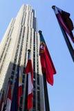 staden flags den nya världen york Royaltyfri Fotografi