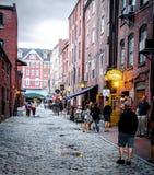 Staden går Arkivbilder