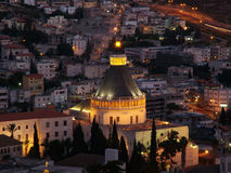 staden galilee heliga israel fäller ned nazareth Royaltyfria Bilder