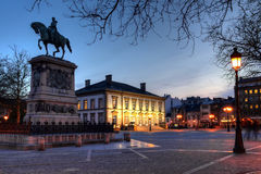 staden guillaume ii luxembourg placerar sig Fotografering för Bildbyråer
