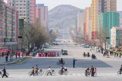Staden nära frihet 38 royaltyfri fotografi