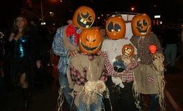 staden nya halloween ståtar york Royaltyfria Bilder
