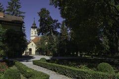 Staden parkerar, Daruvar, Kroatien Royaltyfria Foton