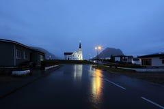 staden tänder nattplats Royaltyfria Foton