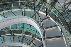 staden vårdar korridoren london norman s Arkivfoto
