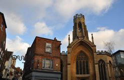 Staden York England Arkivfoto