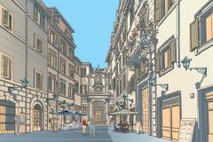 Stadfyrkant Arkivbilder