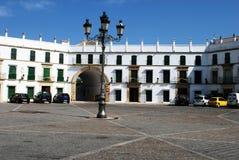 Stadfyrkant, Aguilar de la Frontera royaltyfri foto