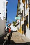 Stadgata, Aguilar de la Frontera royaltyfri fotografi