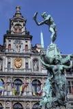 Stadhuis, Antwerp, Belgia - Obrazy Stock