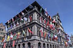Stadhuis, Antwerp, Belgia - Zdjęcia Royalty Free