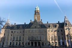 Stadhuis av Rotterdam, Nederländerna Arkivfoto
