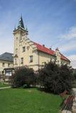 Stadhuis in Branna, Tsjechische Republiek Royalty-vrije Stock Afbeeldingen