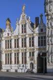 Stadhuis, Bruges, Belgia - Zdjęcie Royalty Free