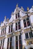 Stadhuis - Bruges - Belgien Royaltyfri Bild