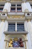 Stadhuis - Bruges - Belgien Fotografering för Bildbyråer