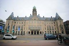 Stadhuis a câmara municipal de Rotterdam Fotos de Stock Royalty Free