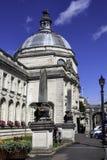 Stadhuis, Cardiff Wales stock afbeeldingen