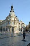 Stadhuis, Cartagena, Spanje, Tom Wurl stock afbeelding