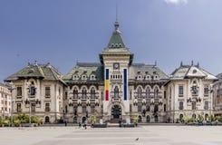 Stadhuis, Craiova, Roemenië, Europa Stock Foto's