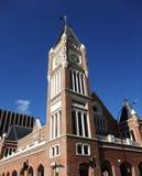 Stadhuis dat in stad Perth, Westelijk Australië wordt gevestigd Royalty-vrije Stock Foto's