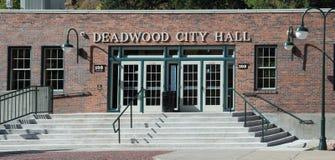 Stadhuis in Deadwood-Zuid-Dakota Royalty-vrije Stock Foto's
