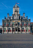 Stadhuis in Delft Royalty Free Stock Photo