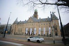 Stadhuis det Rotterdam stadshuset Royaltyfri Fotografi