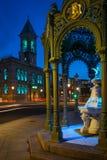 Stadhuis Dun Laoghaire Provincie Dublin ierland stock afbeeldingen