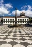 Stadhuis, Funchal, Madera Stock Afbeelding